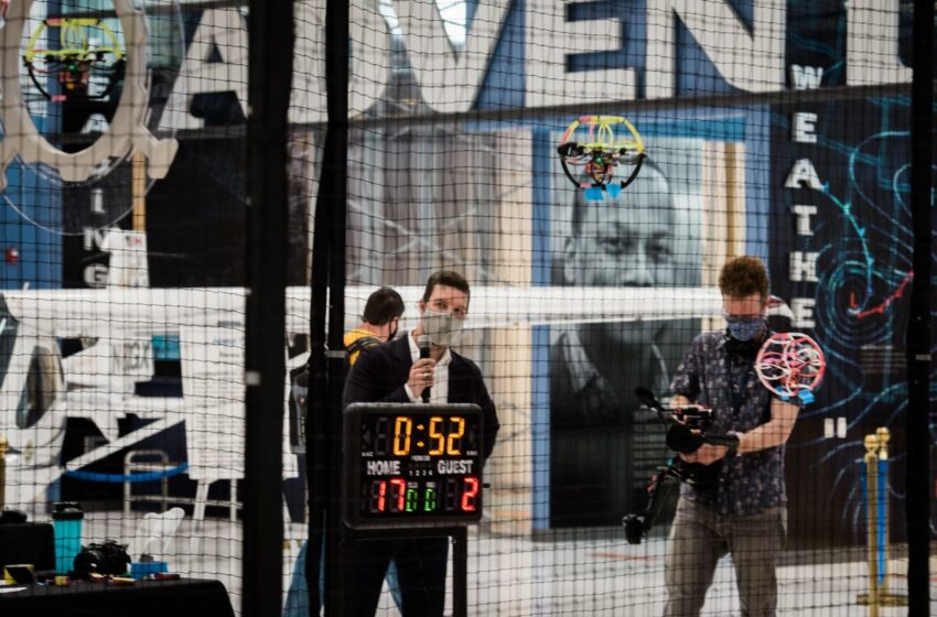 FORMER AIR FORCE COMBAT PILOT BRINGS DRONE SOCCER TO AMERICA