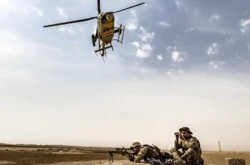 'THEY WILL NEVER LET GO': ISIS FIGHTERS REGROUP IN THE HEART OF IRAQ