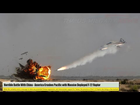 Horrible Battle With China (Aug 01) America Crushes Pacific with Massive Deployed F-22 Raptor