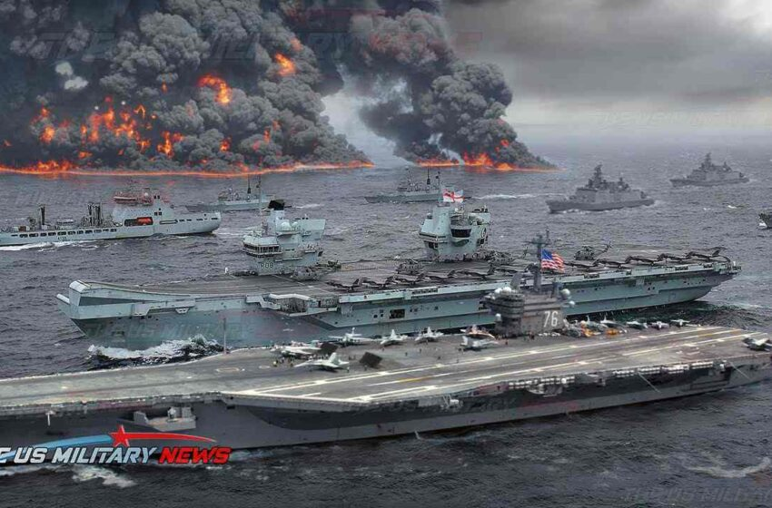 Why is China so afraid: US and UK navy aircraft carriers deploy terrifying force in South China Sea