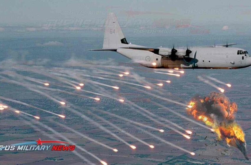 American C-130s fight on the contested space with Chinese Air Force in border