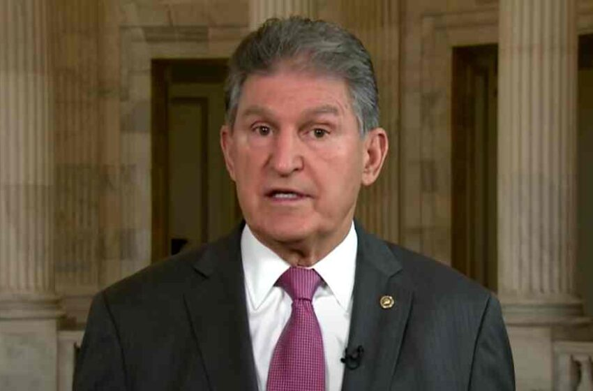 """""""BULLS**T"""": Joe Manchin Responds to Published Report About His Alleged Party Switch"""